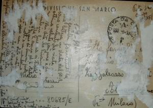 lettera inviata a casa